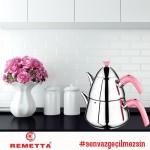 Remetta Ritta Aile Boyu Çaydanlık Takımı